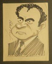 Image of Richard Nixon - Rosen, Jack, 1914-1989