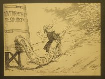 Image of Government resources. Franking privilege - Collier, Nate, 1883-1961