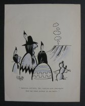 Image of [6 cartoons for American Airlines] - Tippit, Jack, 1923-1994