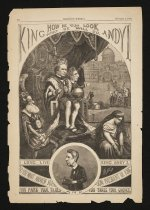 Image of King Andy I. How he will look and what he will do.  - Nast, Thomas, 1840-1902