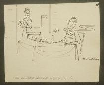 Image of [5 gag cartoons] - Kaufman, Al, 1918-1977