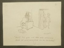Image of [2 gag cartoons] - Shirvanian, Vahan, 1925-