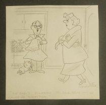 Image of [3 undated gag cartoons] - Fox, Roy L., 1924-