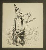 Image of [U.S. as oil-addict] - Podwal, Mark, 1945-