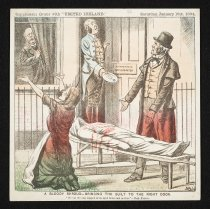 Image of A bloody shroud- Bringing the guilt to the right door  - Reigh, John Dooley