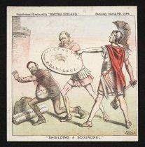 """Image of """"Shielding a scoundrel."""" - Reigh, John Dooley"""