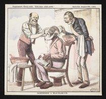 Image of Scrubbing a blackamoor - Reigh, John Dooley