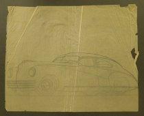 Image of [Car drawing] - Rupe, John