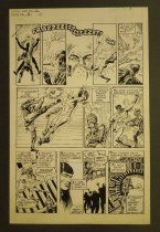 Image of [2 pages of the 'Lightning snatched from the tyrant of time' story from 'Aztec Ace' #2]  - Bair, Michael