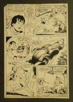 Image of [Page from the 'The Bicentennial villain' story from 'Shazam' #25]  - Schaffenberger, Kurt, 1920-2002