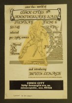 Image of enter the world of Comic City's 8th Anniversary Sale....meet visiting DC artist Dan Jurgens...and introducing Kevin Lenagh... - Jurgens, Dan, 1959-