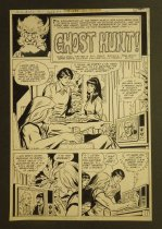 Image of [5 pages of the 'Ghost Hunt!' story in  'House of Mystery' #273]   #154] - Draut, Bill, 1921 - 1993