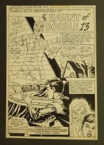Image of [Pages 1, 2 & 3 of 'The haunt of Double 13' story from 'Ghosts' #93] 