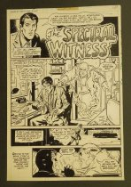 Image of [5 pages of 'The spectral witness' story from 'Ghosts' #75]   #154] - Draut, Bill, 1921 - 1993