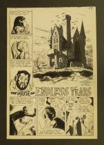 Image of [Page 1 of 'The house of endless years' story in 'House of secrets' #83] - Draut, Bill, 1921 - 1993