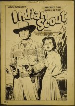 Image of Davy Crockett Indian Scout [Page 34? in 'Movie Love' #2] - Weiss, Morris, 1915-2014