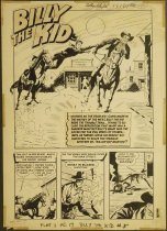 Image of [Page 1 of the 'Killer Not Wanted!' story in 'Billy the kid' #5] - Winick, Leon