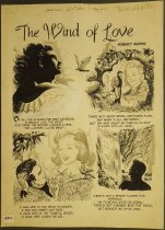 Image of ['The wind of love' from 'Girls' love stories' #11] - Hasen, Irwin, 1918-2015