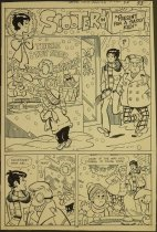 Image of [Pages 1 and 5 of the 'Present for a Sassy Kid!' story in 'Swing with scooter' #32]  - Goldberg, Stan, 1932-2014