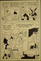 Image of [Two pages of 'Hi and Lois'?]  - Johnson, Frank, 1931-