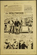Image of ['In Hollywood' story in 'Fighting Leathernecks' #2] - Roy, Mike, 1921-1996