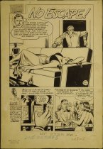 Image of [The 'No escape!' story in 'Dr. Anthony King, Hollywood Love Doctor' #3] - Fass, Myron, 1926-2006