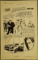 Image of ['Mabel and the snorkel' story in 'Monty Hall of the US Marines' #10] - Keefer, Mel, 1926-