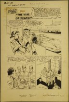 Image of ['The Vial of Death' story in 'Monty Hall of the US Marines' #10] - Keefer, Mel, 1926-