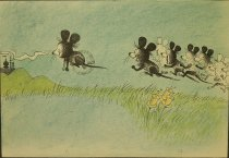 Image of [Illustrations for the children's Beginner Book 'The King, the Mice and the Cheese'] - Gurney, Eric, 1910-1992