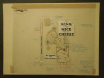 Image of [Two cover layouts for the children's Beginner Book 'The King, the mice and the cheese'] - Gurney, Eric, 1910-1992