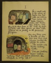 Image of [First three pages of an illustrated story]  - Herschensohn, Wes, 1929-1985