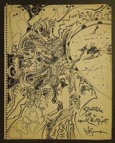 Image of [3 sketches] - Herschensohn, Wes, 1929-1985