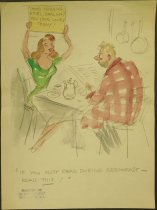 Image of [223 undated gag cartoons] - Berry, Michael, 1907-2000