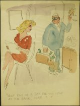 Image of [195 undated gag cartoons] - Berry, Michael, 1907-2000