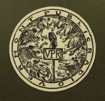 Image of Vermont Public Radio mouse pad - Koren, Edward, 1935-