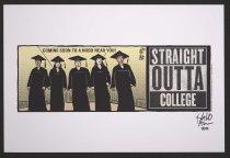 Image of Straight outta college - Alcaraz, Lalo, 1964-
