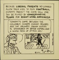 Image of Because Liberal Parents No Longer Allow Their Kids To Play Football - Rall, Ted, 1963-