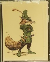 Image of [Pre-production art for 'Robin Hood'] - Anderson, Ken, 1909-1993