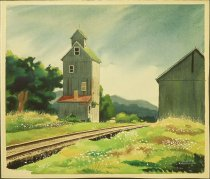 Image of [Railway at Yost, Northern Perry County, Ohio] - McClelland, Leland S., 1914-2002