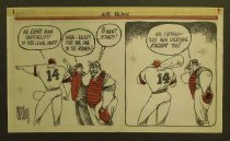 Image of An eight man outfield?! - Miller, David Wiley, 1951-