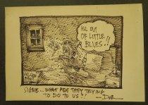 Image of All Out of Little Blues!! - Wasserman, Dan, 1949-