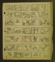 Image of [Harrison storyboards, animation ideas, autobiography and photographs] - Harrison, Ben, b.1896