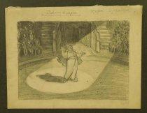 Image of [Clown in the spotlight] - Stroganova, Nadezhda b.1922