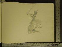Image of [Warrior woman] - Kaluta, Michael William, 1947?-