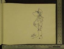 Image of [Razzberry character sketch] - Bode, Vaughn, 1941-1975