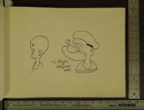 Image of [Henry and Popeye character sketches] - Ward, George