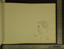 Image of [Buz Sawyer character sketch] - Crane, Roy, 1901-1977