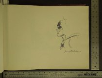 Image of [Batman character sketch] - Robinson, Jerry, 1922?-2011