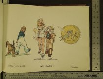 Image of [Three color character sketches] - Flenniken, Shary