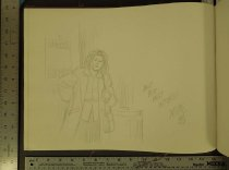 "Image of [Margarita Luisa ""Maggie"" Chascarrillo character sketch] - Hernandez, Jaime"